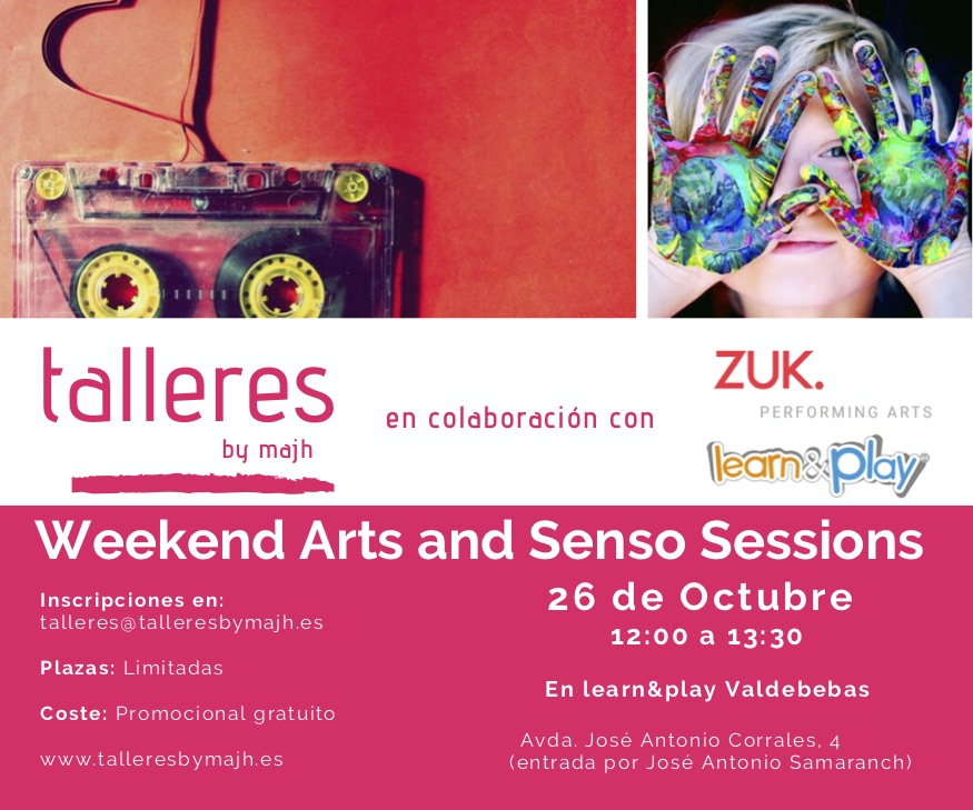 talleres Weekend Arts and Senso Sessions 261019 2