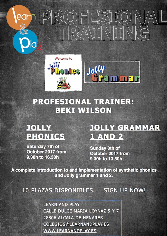 Jolly Phonics course